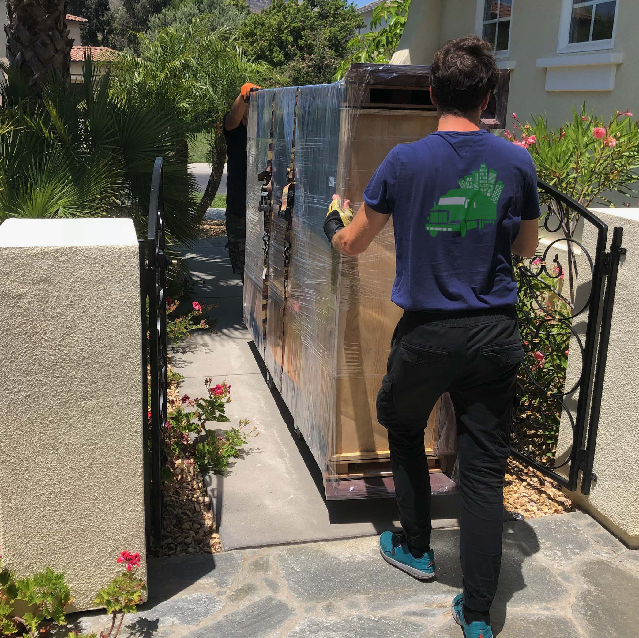 San Diego movers with piano